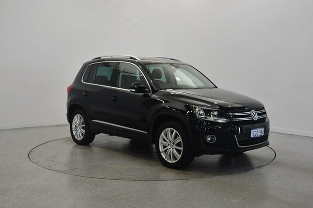 Used Volkswagen Tiguan 5N MY14 155TSI DSG 4MOTION, 2014 Volkswagen Tiguan 5N MY14 155TSI DSG 4MOTION Black 7 Speed Sports Automatic Dual Clutch Wagon