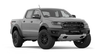 2019 Ford Ranger PX MkIII 2019.00MY Raptor Pick-up Double Cab Conquer Grey 10 Speed Sports Automatic.