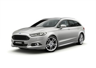 2018 Ford Mondeo MD 2018.75MY Titanium PwrShift Silver 6 Speed Sports Automatic Dual Clutch Wagon.