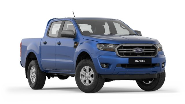New Ford Ranger PX MkIII 2019.00MY XLS Pick-up Double Cab, 2019 Ford Ranger PX MkIII 2019.00MY XLS Pick-up Double Cab Blue Lightning 6 Speed Sports Automatic