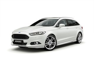2018 Ford Mondeo MD 2018.75MY Titanium PwrShift White Platinum 6 Speed Sports Automatic Dual Clutch.