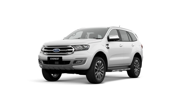 New Ford Everest UA II 2019.00MY Titanium 4WD, 2019 Ford Everest UA II 2019.00MY Titanium 4WD Arctic White 10 Speed Sports Automatic Wagon