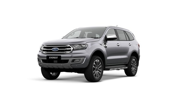 New Ford Everest UA II 2019.75MY Titanium 4WD, 2019 Ford Everest UA II 2019.75MY Titanium 4WD Aluminium 10 Speed Sports Automatic Wagon