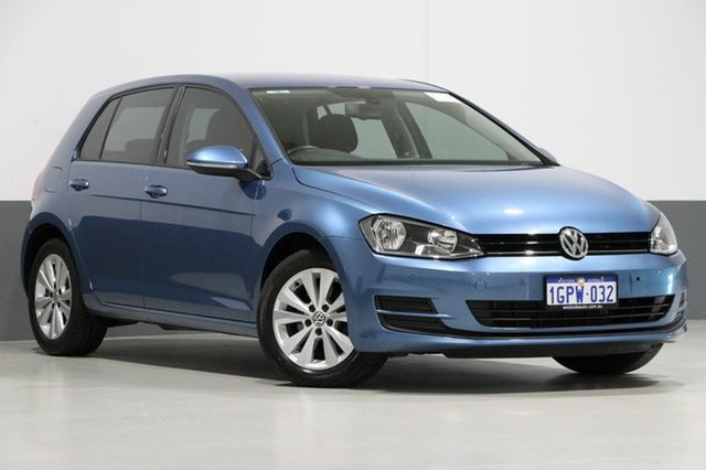 Used Volkswagen Golf AU MY14 90 TSI Comfortline, 2014 Volkswagen Golf AU MY14 90 TSI Comfortline Blue 7 Speed Auto Direct Shift Hatchback