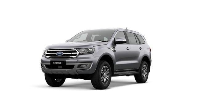 New Ford Everest UA II 2019.00MY Trend 4WD, 2018 Ford Everest UA II 2019.00MY Trend 4WD Aluminium 10 Speed Sports Automatic SUV