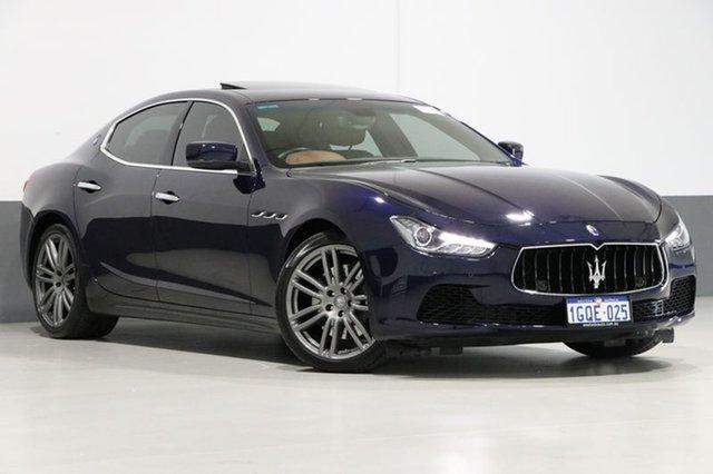 Used Maserati Ghibli M157 S, 2014 Maserati Ghibli M157 S Blue Passion 8 Speed Automatic Sedan