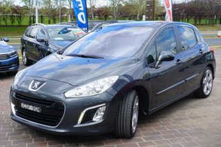 2012 Peugeot 308 T7 MY12 Allure Grey 6 Speed Sports Automatic Hatchback.