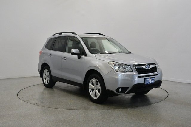 Used Subaru Forester S4 MY15 2.5i-L CVT AWD, 2015 Subaru Forester S4 MY15 2.5i-L CVT AWD Ice Silver 6 Speed Constant Variable Wagon
