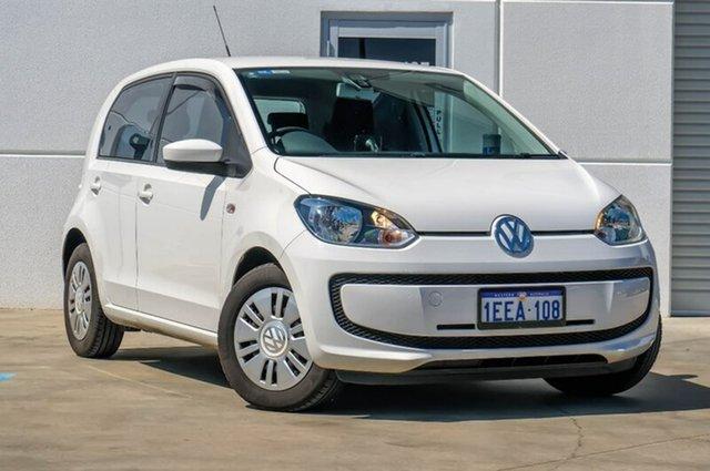 Used Volkswagen UP! Type AA MY13 , 2012 Volkswagen UP! Type AA MY13 White 5 Speed Manual Hatchback