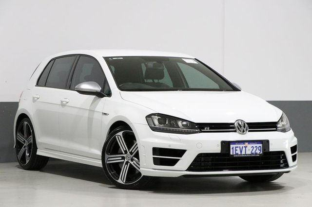 Used Volkswagen Golf AU MY15 R, 2015 Volkswagen Golf AU MY15 R White 6 Speed Direct Shift Hatchback