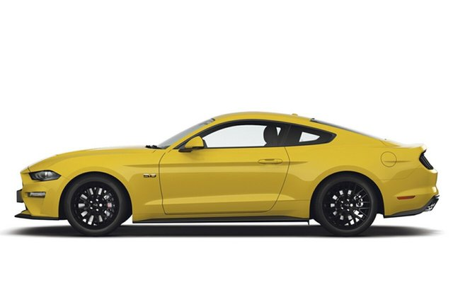 New Ford Mustang FN MY18 GT Fastback SelectShift, 2018 Ford Mustang FN MY18 GT Fastback SelectShift Triple Yellow 10 Speed Sports Automatic Fastback