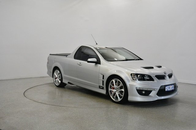 Used Holden Special Vehicles Maloo E Series 3 MY12.5 , 2012 Holden Special Vehicles Maloo E Series 3 MY12.5 Silver 6 Speed Manual Utility