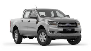 2018 Ford Ranger PX MkIII 2019.00MY XLS Pick-up Double Cab Aluminium 6 Speed Sports Automatic.
