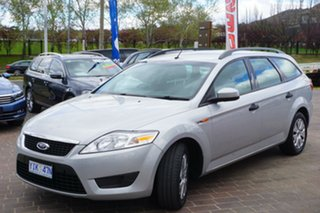 2010 Ford Mondeo MB MY11 LX Silver 6 Speed Sports Automatic Wagon.
