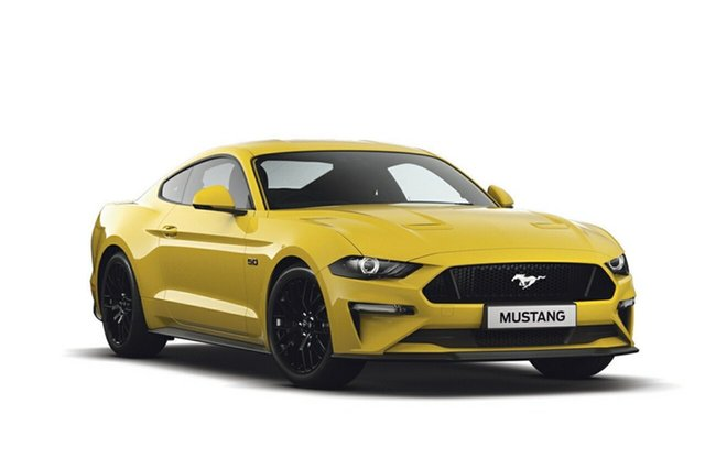 New Ford Mustang FN 2018MY GT Fastback SelectShift, 2018 Ford Mustang FN 2018MY GT Fastback SelectShift Triple Yellow 10 Speed Sports Automatic Fastback
