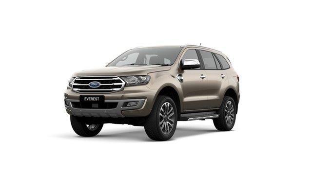 New Ford Everest UA II 2019.00MY Titanium 4WD, 2019 Ford Everest UA II 2019.00MY Titanium 4WD Diffused Silver 10 Speed Sports Automatic SUV