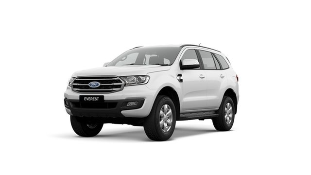 New Ford Everest UA II 2019.00MY Ambiente 4WD, 2019 Ford Everest UA II 2019.00MY Ambiente 4WD Arctic White 6 Speed Sports Automatic Wagon