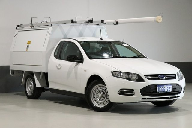 Used Ford Falcon FG MK2 , 2013 Ford Falcon FG MK2 White 6 Speed Auto Seq Sportshift Cab Chassis