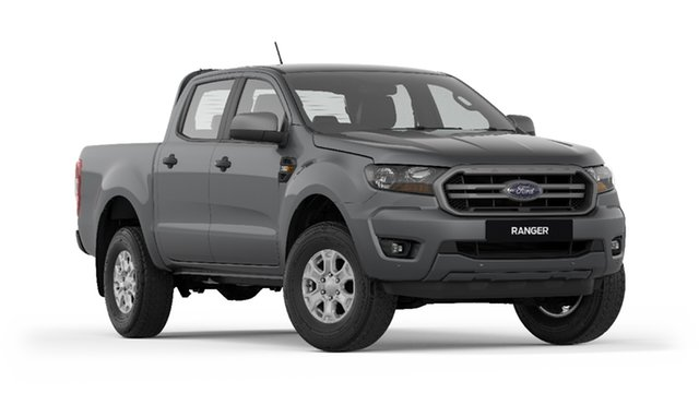 New Ford Ranger PX MkIII 2019.00MY XLS Pick-up Double Cab, 2019 Ford Ranger PX MkIII 2019.00MY XLS Pick-up Double Cab Meteor Grey 6 Speed Sports Automatic