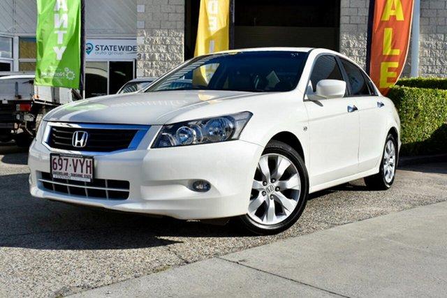 Used Honda Accord 8th Gen MY10 VTi-L, 2010 Honda Accord 8th Gen MY10 VTi-L White 5 Speed Sports Automatic Sedan