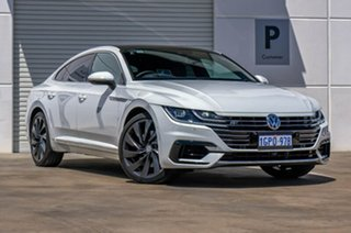 2018 Volkswagen Arteon 3H MY18 206TSI Sedan DSG 4MOTION R-Line White 7 Speed.