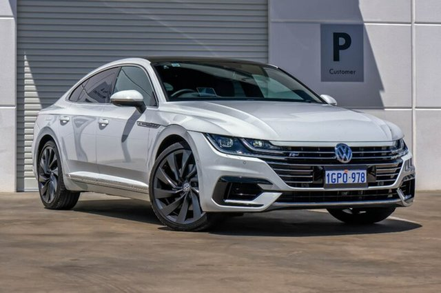 Used Volkswagen Arteon 3H MY18 206TSI Sedan DSG 4MOTION R-Line, 2018 Volkswagen Arteon 3H MY18 206TSI Sedan DSG 4MOTION R-Line White 7 Speed
