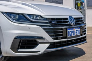 2018 Volkswagen Arteon 3H MY18 206TSI Sedan DSG 4MOTION R-Line White 7 Speed