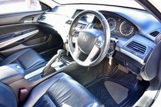 2010 Honda Accord 8th Gen MY10 VTi-L White 5 Speed Sports Automatic Sedan