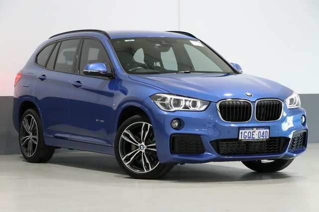 Used BMW X1 F48 MY17 sDrive 20I, 2017 BMW X1 F48 MY17 sDrive 20I Estoril Blue 8 Speed Automatic Wagon