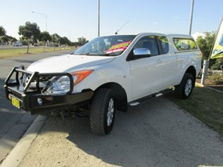 2015 Mazda BT-50 UP0YF1 XTR Freestyle White 6 Speed Manual Utility