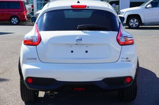 2017 Nissan Juke F15 Series 2 Ti-S 2WD White 6 Speed Manual Hatchback