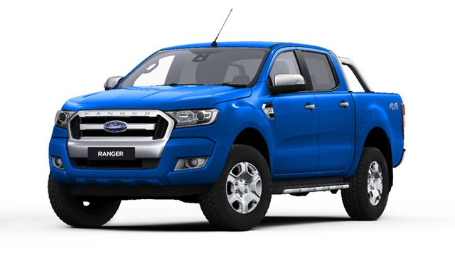 New Ford Ranger PX MkII 2018.00MY XLT Double Cab, 2018 Ford Ranger PX MkII 2018.00MY XLT Double Cab Blue Lightning 6 Speed Sports Automatic Utility
