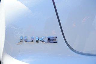 2017 Nissan Juke F15 Series 2 Ti-S 2WD White 6 Speed Manual Hatchback
