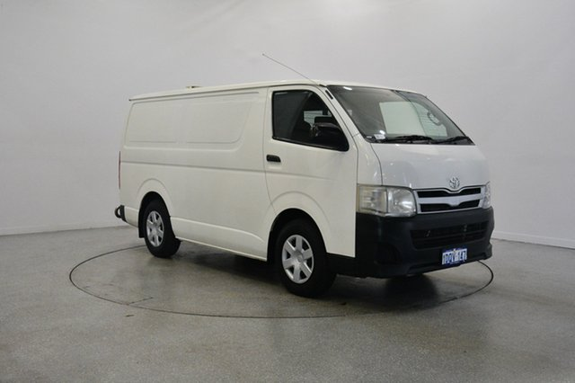 Used Toyota Hiace KDH201R MY11 LWB, 2011 Toyota Hiace KDH201R MY11 LWB White 5 Speed Manual Van