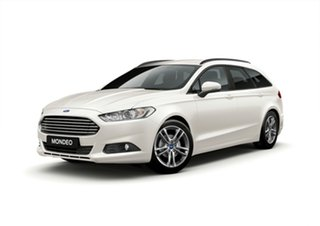2018 Ford Mondeo MD 2018.75MY Ambiente PwrShift White 6 Speed Sports Automatic Dual Clutch Wagon.