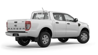 2018 Ford Ranger PX MkIII 2019.00MY XLS Pick-up Double Cab Frozen White 6 Speed Sports Automatic.