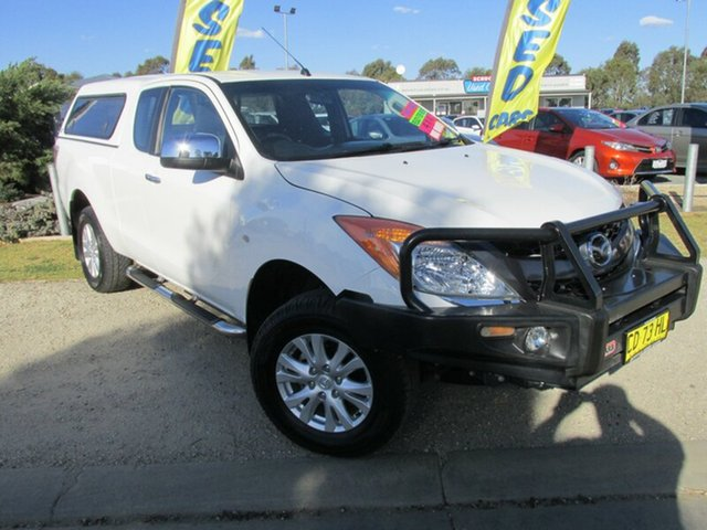 Used Mazda BT-50 UP0YF1 XTR Freestyle, 2015 Mazda BT-50 UP0YF1 XTR Freestyle White 6 Speed Manual Utility