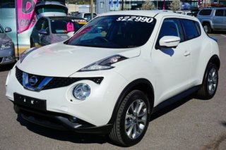 2017 Nissan Juke F15 Series 2 Ti-S 2WD White 6 Speed Manual Hatchback.
