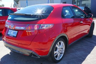 2011 Honda Civic 8th Gen MY11 SI Red 5 Speed Automatic Hatchback