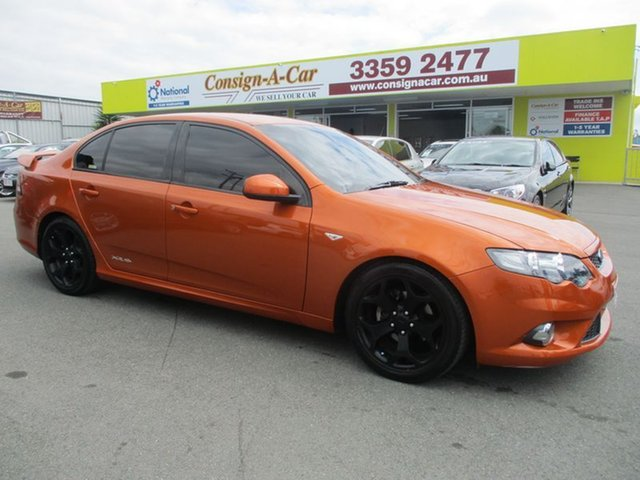 Used Ford Falcon FG XR6 Limited Edition, 2011 Ford Falcon FG XR6 Limited Edition Orange 6 Speed Manual Sedan