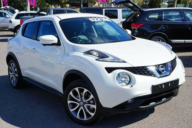 Used Nissan Juke F15 Series 2 Ti-S 2WD, 2017 Nissan Juke F15 Series 2 Ti-S 2WD White 6 Speed Manual Hatchback