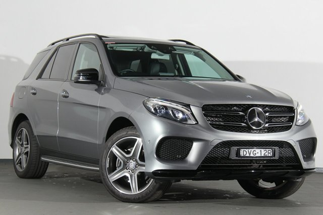 Used Mercedes-Benz GLE250 W166 d 9G-TRONIC 4MATIC, 2015 Mercedes-Benz GLE250 W166 d 9G-TRONIC 4MATIC Silver 9 Speed Sports Automatic SUV