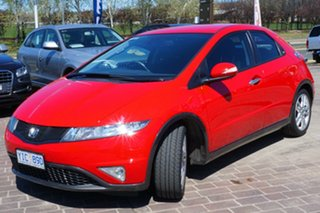 2011 Honda Civic 8th Gen MY11 SI Red 5 Speed Automatic Hatchback.