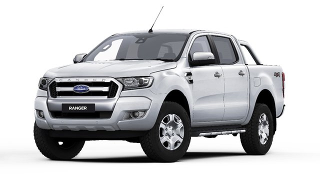 New Ford Ranger PX MkII 2018.00MY XLT Double Cab, 2018 Ford Ranger PX MkII 2018.00MY XLT Double Cab Frozen White 6 Speed Sports Automatic Utility