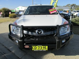 2015 Mazda BT-50 UP0YF1 XTR Freestyle White 6 Speed Manual Utility.