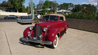 1938 Packard 115C Maroon 5 Speed Manual Convertible