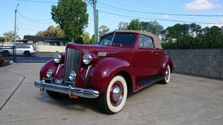 1938 Packard 115C Maroon 5 Speed Manual Convertible.