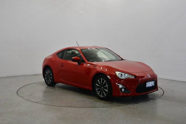 Used Toyota 86 ZN6 GT, 2013 Toyota 86 ZN6 GT Red 6 Speed Manual Coupe