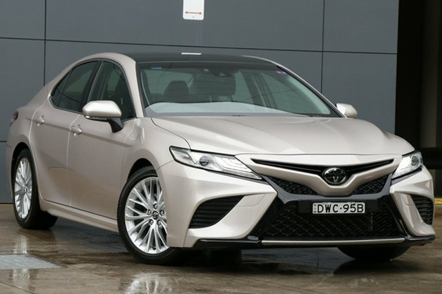 Used Toyota Camry ASV70R SL, 2017 Toyota Camry ASV70R SL Beige 6 Speed Sports Automatic Sedan
