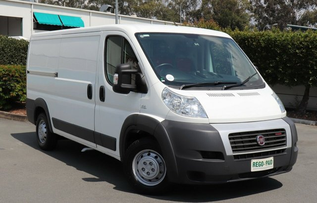 Used Fiat Ducato Series II MY12 Low Roof MWB, 2014 Fiat Ducato Series II MY12 Low Roof MWB White 6 Speed Manual Van